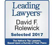 David F Rolewick Leading Lawyer